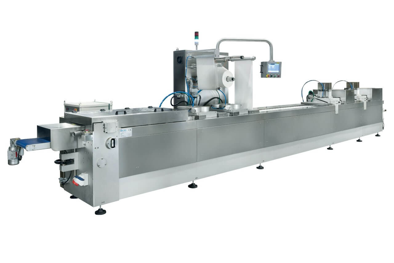 Automatic blister packing machines for medical products